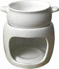 UNBER Ceramic Chocolate Fondue Pot Chocolate