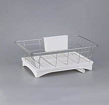 Unbne Kitchen Dish Drainer Drying Rack Tableware