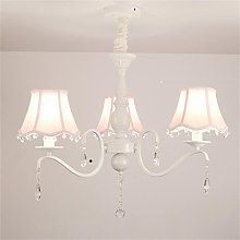 Uncle Sam LI- Crystal Pink Chandelier for