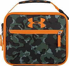 Under Armour Lunch Cooler, Camo/Orange