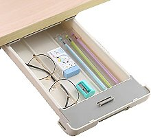 Under Desk Drawer Organizer Gray Desk Drawers -