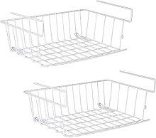 Under Shelf Storage Basket, Under Cabinet Hanging