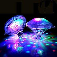 Underwater Bath Light,Floating Lamp LED Disco Aqua