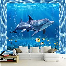 Underwater World 3D Photo Wallpaper Kids Room