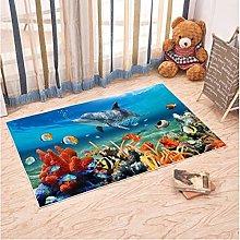 Underwater World Carpet Living Room Bedroom