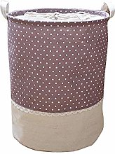 UNGGOY Canvas 13.77L Waterproof Storage Bin Home