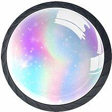 Unicorn and Rainbow 4 Packs Kitchen Cabinet