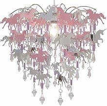 Unicorn Chandelier Children Bedroom Lamp Shade for