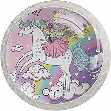 Unicorn Drawer Round Knobs Cabinet Pull Handles