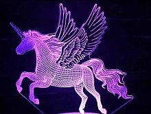 Unicorn Horse Acrylic Stereo Souvenir Beauti s pc