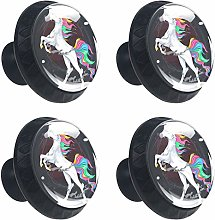Unicorn Horse Cabinet Door Knobs Handles Pulls