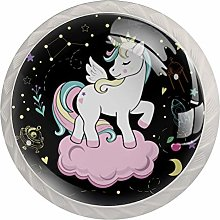 Unicorn Space Crystal Cabinet Knob Knobs for