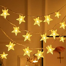 Unihoh Star Fairy Lights with 8 Modes Remote