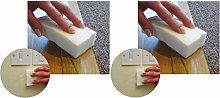 UNIKA Magic Eraser Sponges Melamine Foam Lifts