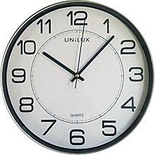 Unilux Wall Clock, Gray