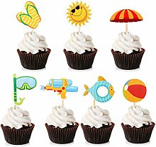 Unimall Pool Party Cupcake Topper Summer Cupcake