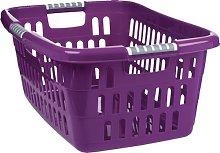 Unimet 378000Laundry Basket, Plastic, purple,