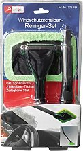 Unimet Windscreen Cleaning Kit, Black