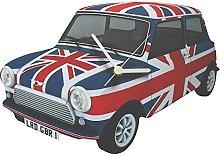 Union Jack Mini Clock - M1