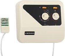 Uniprodo Sauna Control Panel - overheat protection