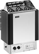 Uniprodo Sauna Heater - 4.5 kW - 30 to 110 °C
