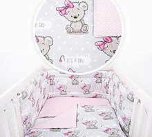 UNIQUE DESIGNS 5 PC BABY BEDDING SET FIT BED WITH