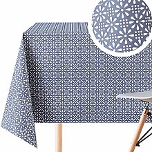 Unique Fabric Table Cloth Look And Feel - PVC Wipe