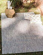 Unique Loom Outdoor Solid Collection Casual