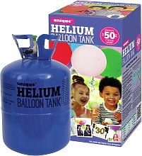 Unique Party Helium Canister For Fifty 9 Inch