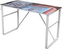 Unique Rectangular Desk QAH08586
