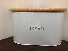 Unique Style Bread Bin Large Stainless Steel with