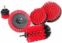 Uniquk Drill Brush Power Scrubber Kit Kitchen