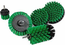 Uniquk Drill Brush Power Scrubber Kit Kitchen