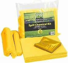 Unisex 20 Litre Chemical Kit Yellow Regular -