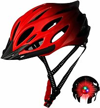 Unisex bicycle helmet, safety adjustable mountain