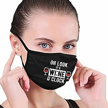 Unisex Reusable Face Scarf Oh Look It'S Wine