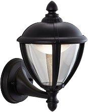 Unite - LED Outdoor Wall Lantern Uplight Black