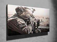 United States Army Ranger Photo Canvas Print