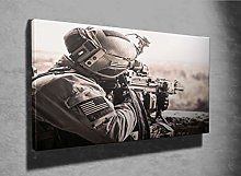 United States Army Ranger Photo Canvas Print