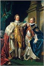 United States Benjamin West George IV Art SILK