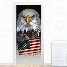 United States Door Sticker East Urban Home