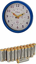 Unity 25 cm Henley Children's Learn the Time