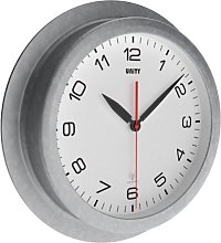 Unity Kilburn Radio Controlled Wall Clock, White