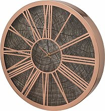 Unity Rose Gold Roman Numeral 40cm Wall Clock With
