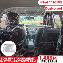 Universal 1.4x2M Sealed Transparent Self-Adhesive