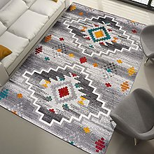 UNIVERSAL Badari Aztec Ethnic Rug, Multicoloured,