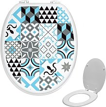 Universal Classic Oval Shaped Design Toilet Seat &
