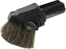 Universal Combination Round Brush and Upholstery