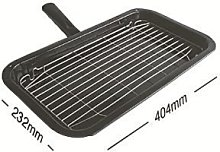 Universal Cooker Grill Pan And Handle Assembly