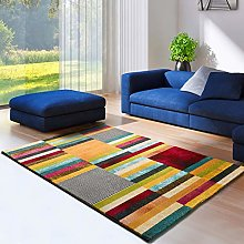 UNIVERSAL Moar Geometric Rug, Multicoloured, 100%